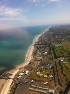 Adelaide from the aeroplane