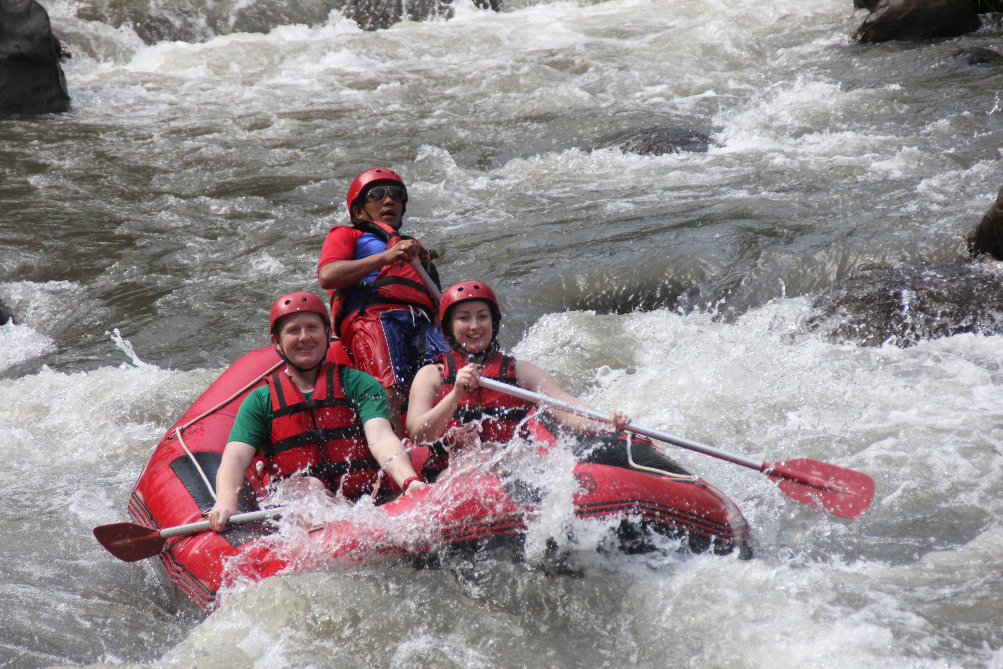 TRAVEL: WHITE WATER RAFTING