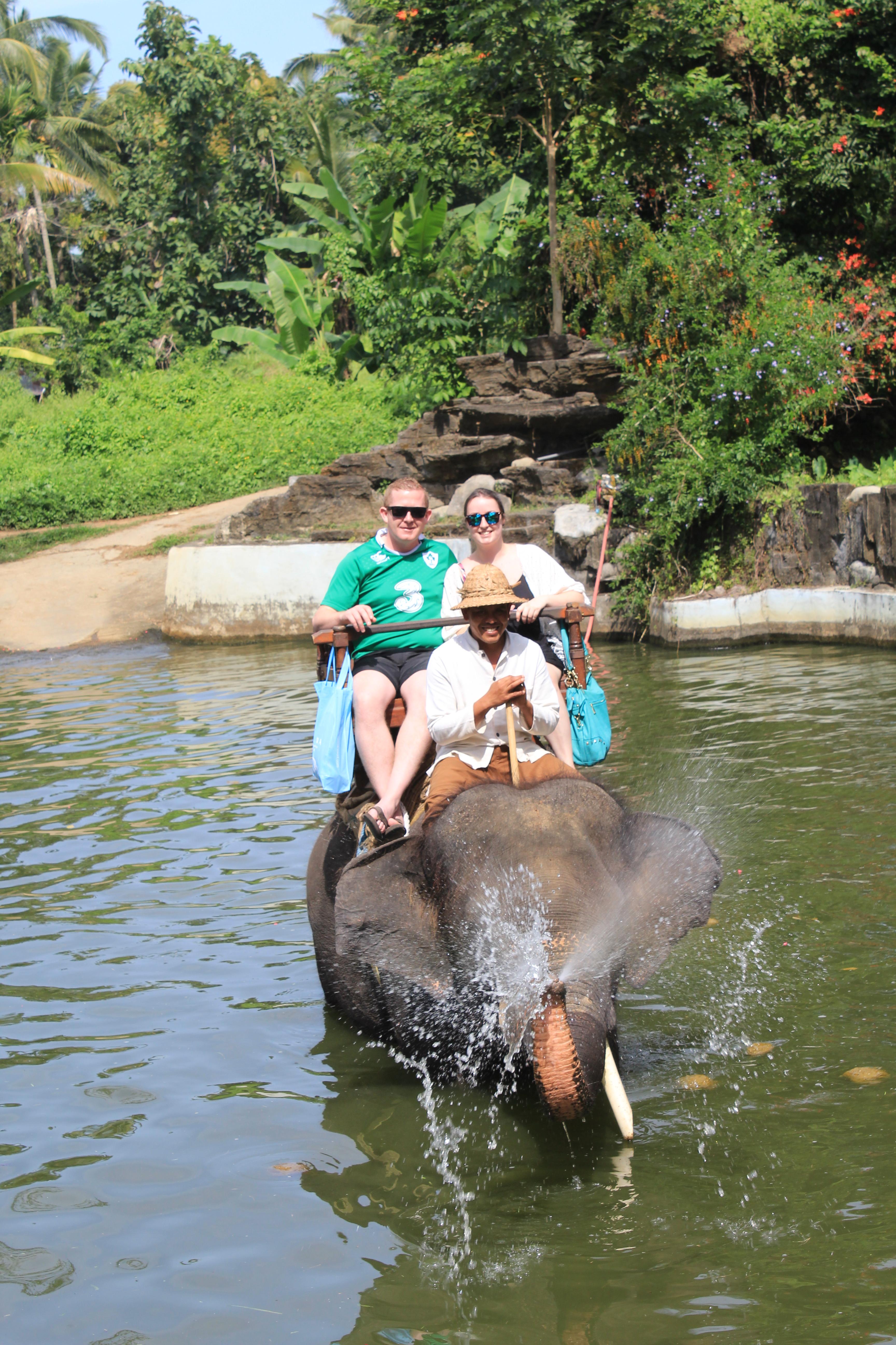 TRAVEL: ELEPHANT RIDE