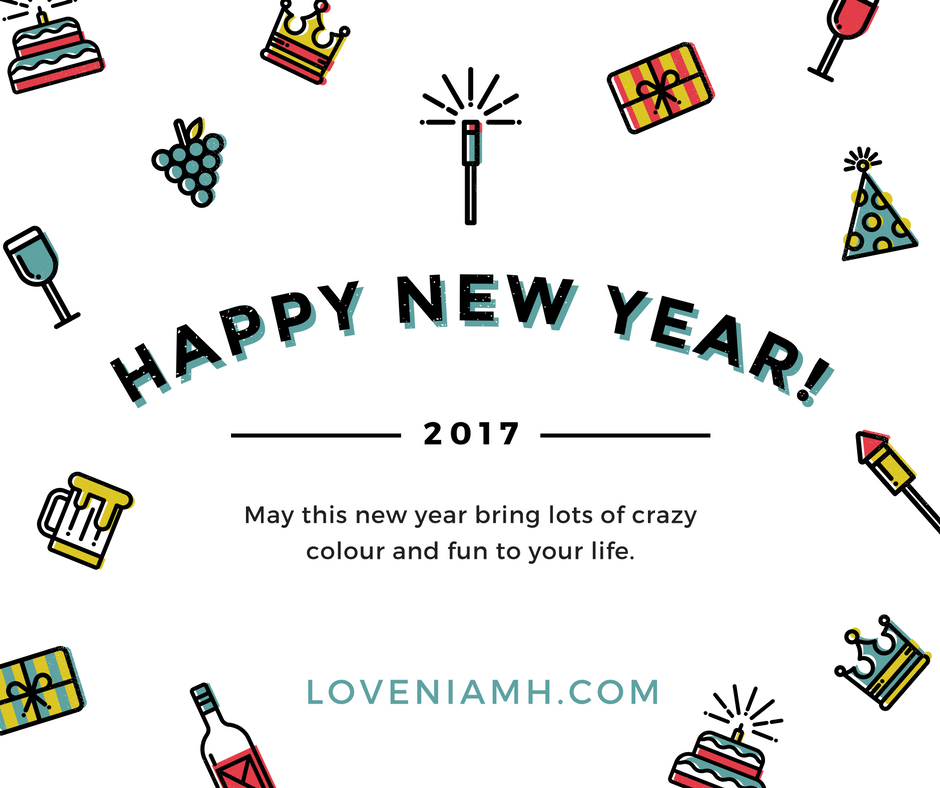 Goodbye 2016 - Hello 2017